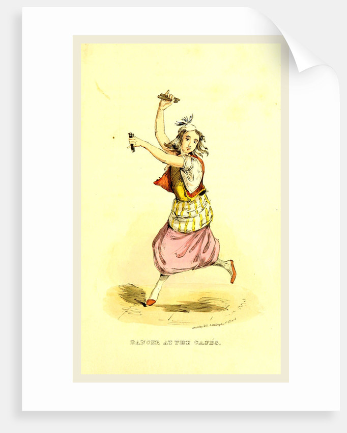 Dancer, Damascus and Palmyra, a journey to the East by W. M. Thackeray