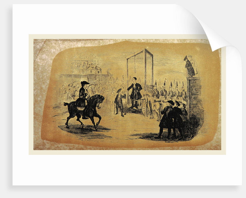 The History of Jack Sheppard, his wonderful exploits and escapes. A romance founded on facts. With original illustrations, from drawings by J. Sketch by Anonymous