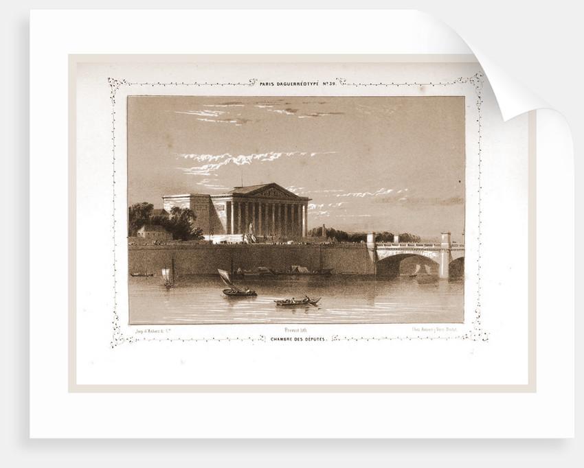 Chambre des Deputes, Paris and surroundings by M. C. Philipon