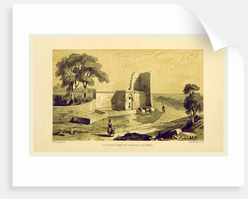 Casaurale, Algiers, Journal of a trip to the Algerine territory in 1837 by Anonymous