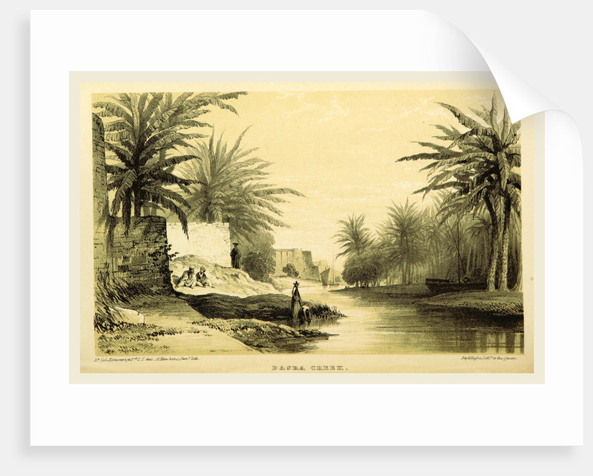 Basra Creek, Narrative of the Euphrates Expedition during the years 1835-1837 by Anonymous