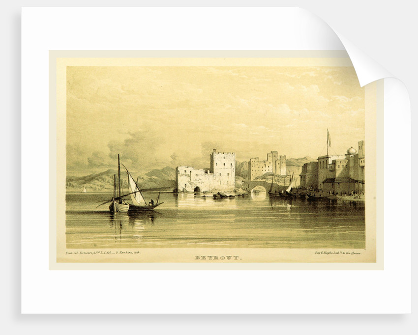 Beyrout, Narrative of the Euphrates Expedition during the years 1835-1837 by Anonymous