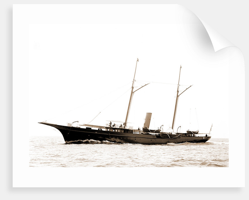Electra (Steam yacht), 1891 by Anonymous