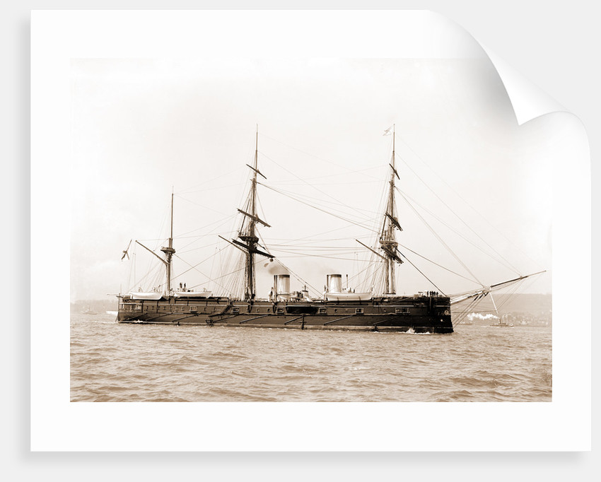 Dmitri Donskoi, Russian ship, Dmitri Donskoi (Cruiser), 1880 by Anonymous