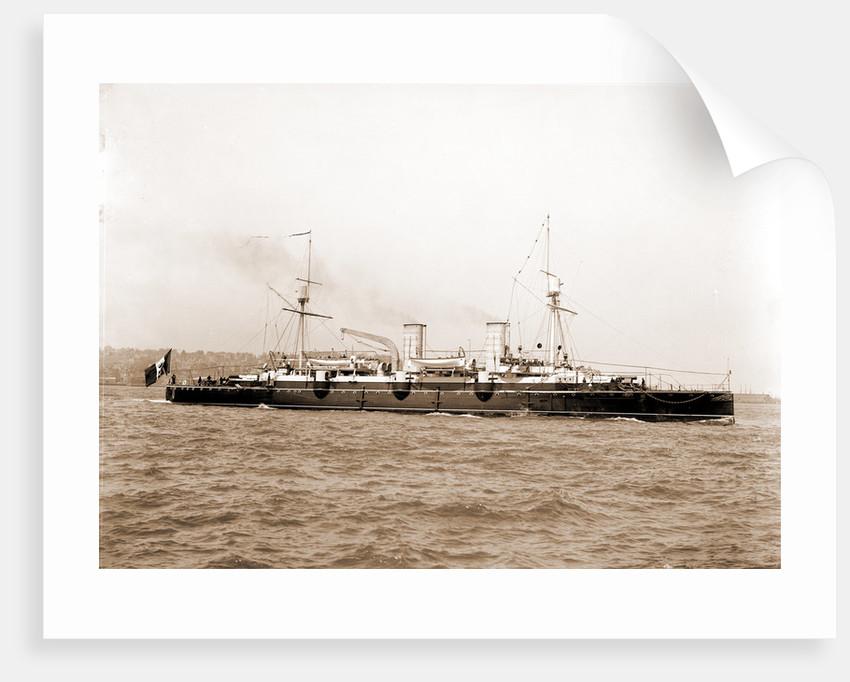 Italian cruiser Giovanni Bausan, Giovanni Bausan (Ship), 1890 by Anonymous