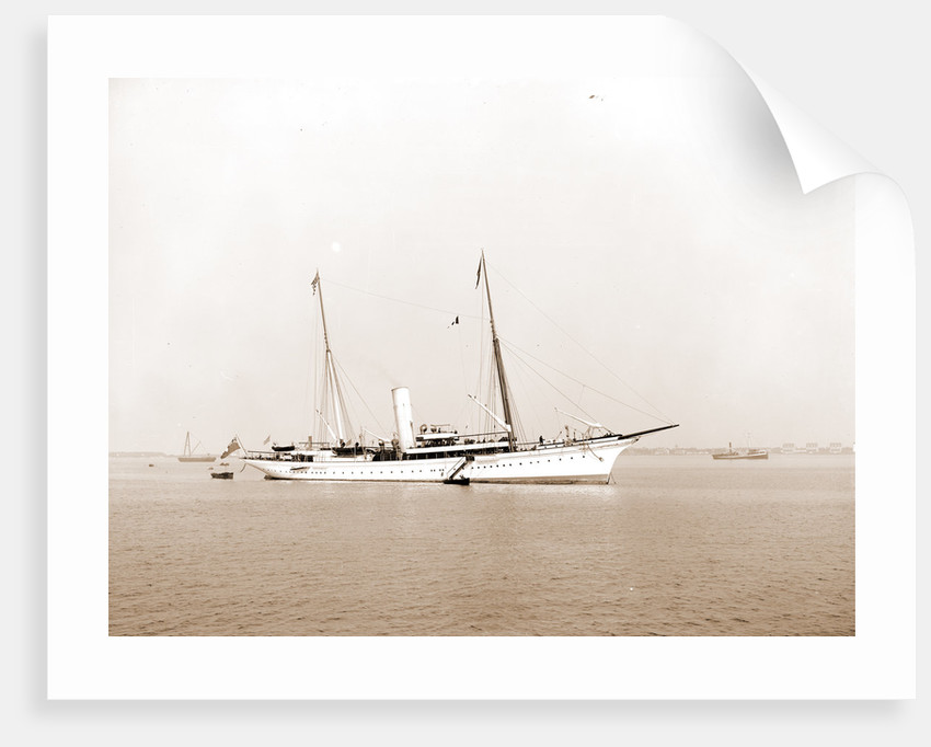 Erin (Steam yacht), 1899 by Anonymous