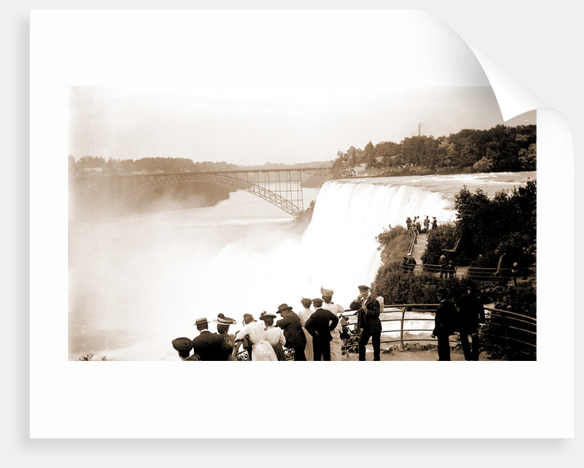 American Falls from Goat Island, Waterfalls by Anonymous