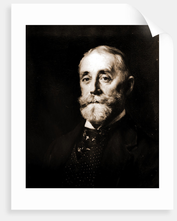 Charles H. Davis, head-and-shoulders portrait by Anonymous