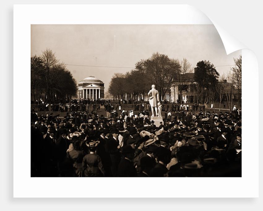 Inauguration Day, University of Va by Anonymous