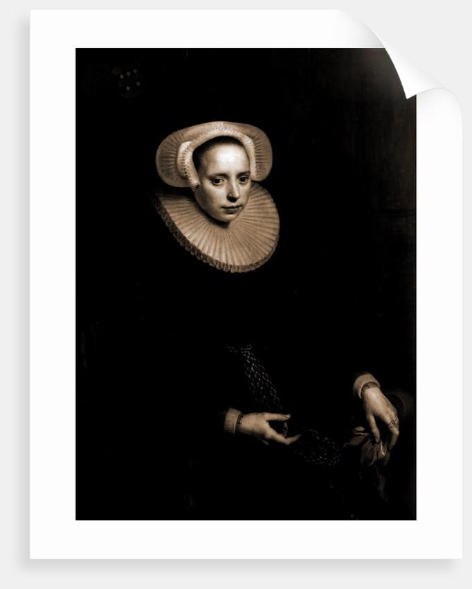 Cornelia Bruinzeels by Paulus Moreelse