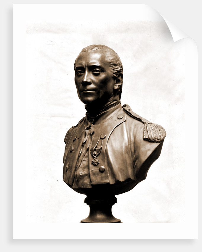 John Paul Jones, bust sculpture by John Paul Jones