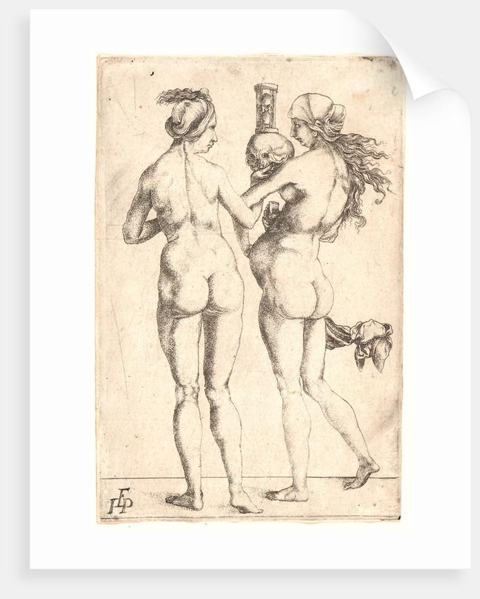 Naked woman and skulls — 13