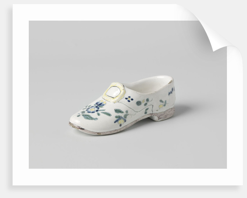Object in the form of a shoe by Anonymous