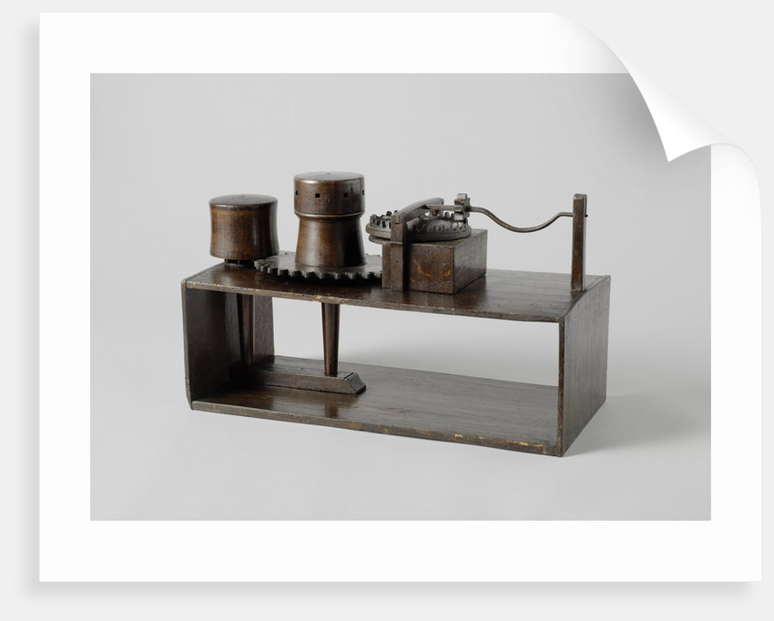 Model of a spindle tool by Anonymous