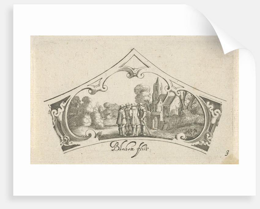 Bartholomeus van Lochom, Hans Janssen by Claes Jansz. Visscher II