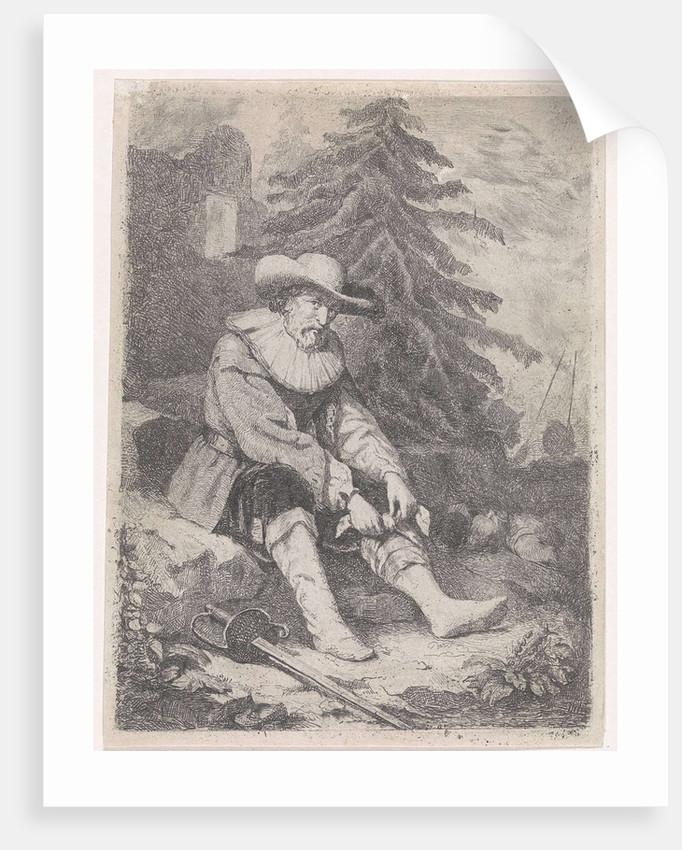 Wounded warrior by David van der Kellen III