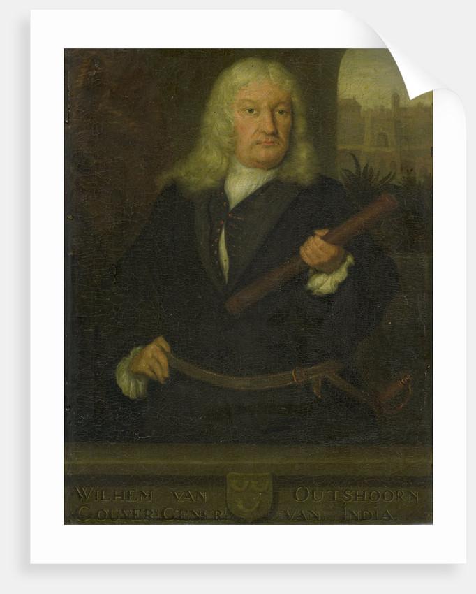 Portrait of Willem van Outhoorn, Governor General of the Dutch East Indies by David van der Plas