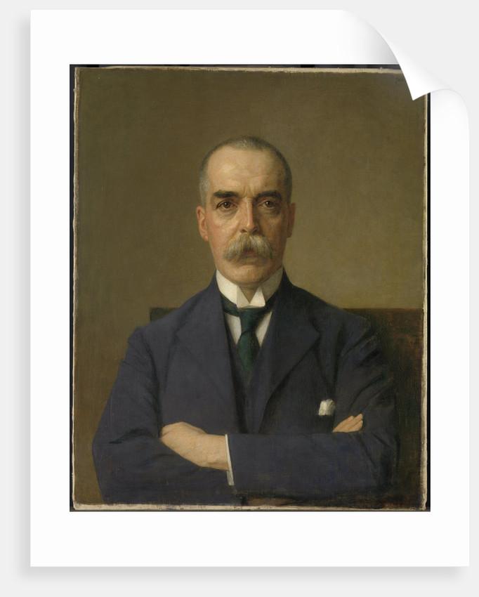 Portrait of Isaac de Bruijn, 1873-1953 by Jan Veth