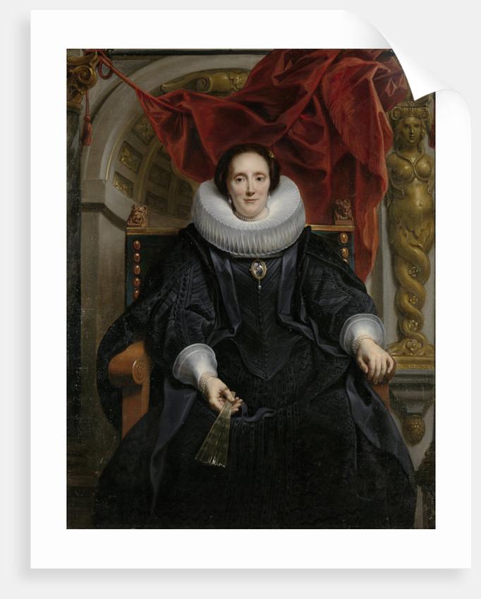 Portrait of Catharina Behaghel by Jacob Jordaens I