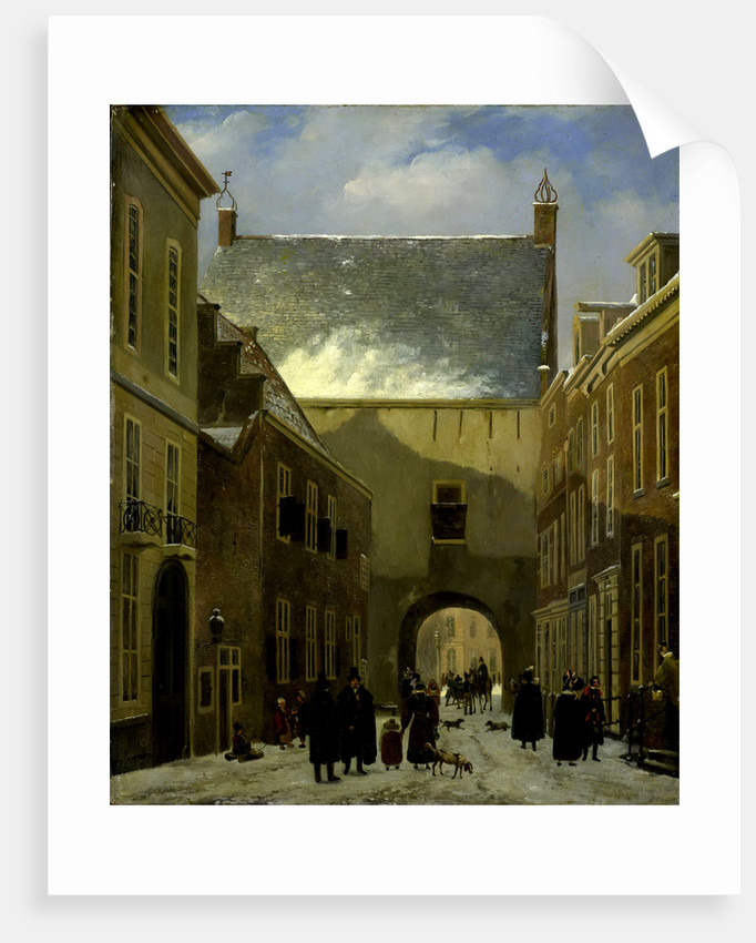 The Gevangenpoort, Prison Gate in The Hague, The Netherlands by Johannes Adrianus van der Drift