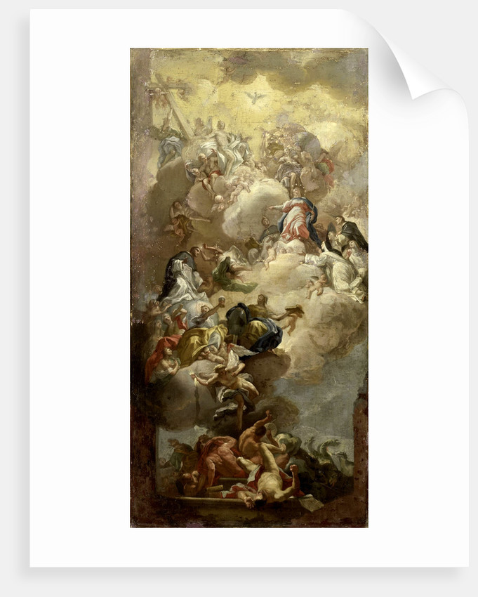 The Glorification of Saint Dominic by Anonymous
