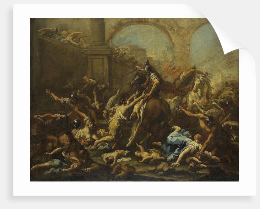 Massacre of the Innocents by Alessandro Magnasco