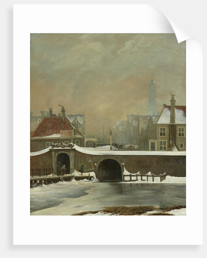 The Raampoortje in Amsterdam, The Netherlands by Wouter Johannes van Troostwijk