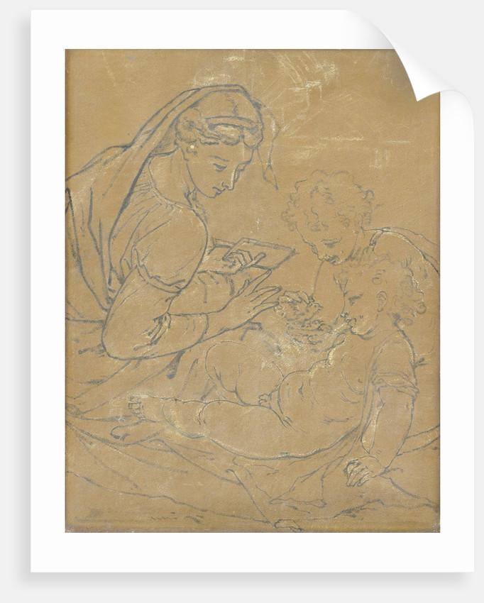 Virgin and Child with Saint John by Adriaen van der Werff