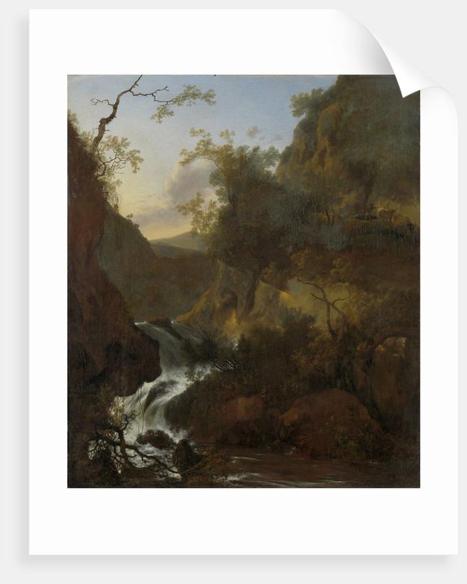 A waterfall by Adam Pijnacker