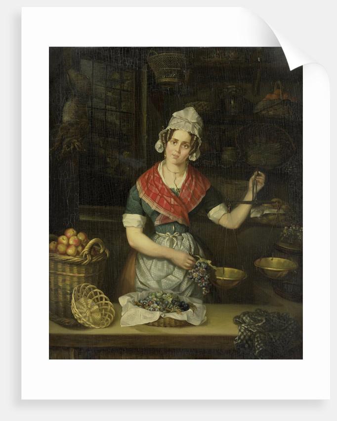 Fruit Seller by Henriëtta Christina Temminck
