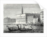 Arrival of Denis Papin in Venice by Anonymous