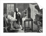 James Watt Muses About Perfecting the Newcomen Steam Engine by Anonymous