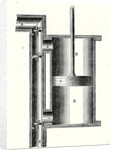 A Single Acting Cylinder of a Steam Engine by Anonymous