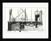Cross Section of Condensing Machine or Watt's Low Pressure Machine by Anonymous