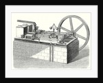 A Hot-Air Cylinder Machine with Horizontal Engines by Anonymous