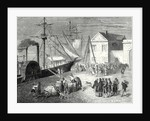 Fulton Boards His Steamboat the 'Clermont' in New York for Its First Trip April 11 1807 by Anonymous