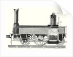 Cross Section of a Locomotive Showing How the Steam is Distributed by Anonymous