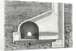 Cross Section of a Tunnel with a Ventilation Shaft by Anonymous