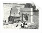 Entrance of the Atmospheric London to Sydenham Railway Established in 1865 by Anonymous