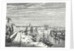 A Railway in Nantes by Anonymous