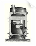 Cross Section of the Hearth and the Crossed Boiler Reboiler of M. Hermann-Lachapelle's Industrial Traction Engine by Anonymous