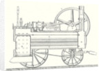 Cross Section of M. Calla's Traction Engine by Anonymous