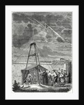 Dalibard's Scientific Experiment Conducted in Marly 10 May 1752. First Demonstration of the Presence of Electricity in Thunderclouds by Anonymous