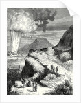Destruction of Fort Pei-Ho in China by the Ignition of a Mine by Ruhmkorff's Machine by Anonymous
