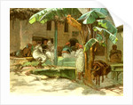 Cafe of Hammah Algiers 1885 by Anonymous