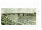 Aberdeen UK Victoria Bridge Across the Dee 1885 by Anonymous