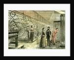 Aberdeen Granholm Tweed Mills 1885 UK Warping Machines by Anonymous