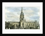 Aberdeen the East and West Churches 1885 UK by Anonymous