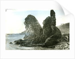 Aberdeen the Rocks at Muchalls 1885 UK by Anonymous