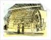 Aberdeen Water-Wheel at the Granholm Tweed Mills 1885 UK by Anonymous